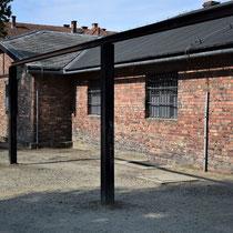 Galg van Auschwitz - voor gevangenen