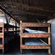 Slaap barak gevangenen Majdanek