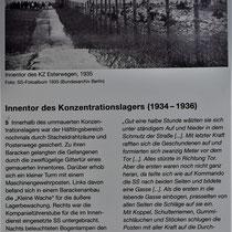 Informatiebord over het kamp
