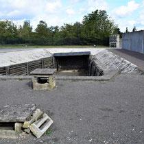 Executie geul van boven - hier werden gevangenen vermoord
