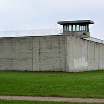 Voormalige gevangenismuur