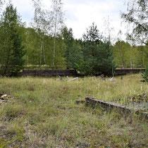 Ligging voormalige barakken in Siemenskamp