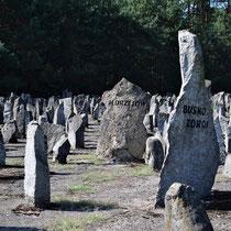 Overzicht memorial stenen - met namen