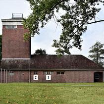 Achterkant SS bewakingskantoor