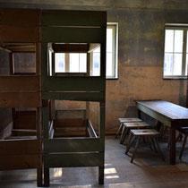 Slaap barak voor gevangenen