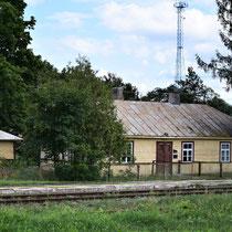 Trein station Sobibor - voor lokale bevolking