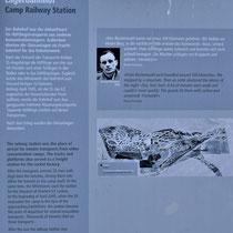 Informatiebord over treinstation