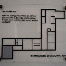 47) Plattegrond crematorium - Werkkamer arts
