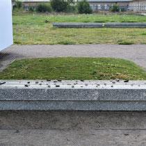 Massagraven met de as van de gavangenen