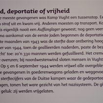 7) Informatiebord 'Dood, deportatie of vrijheid'