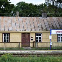 Trein station Sobibor - voorkant
