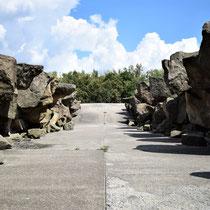 Onder Memorial Monument Majdanek - begin kamp