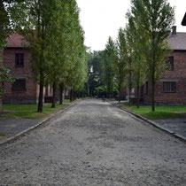 Stenen barakken Auschwitz