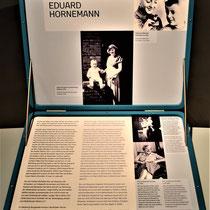 Koffer met informatie over de Nederlandse jongen Eduard Hornemann - broer van Alexander Hornemann