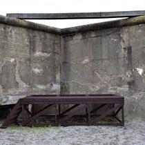 96. Executieplaats - balk met valluiken waar mensen opgehangen werden