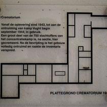 45) Plattegrond crematorium