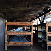 Slaap barak gevangenen Majdanek 2