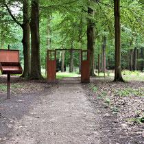 Ingang voormalig crematorium