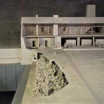 Maquette gaskamer en crematorium Auschwitz 2