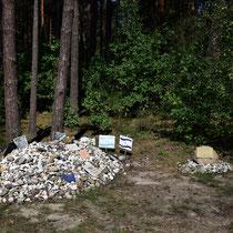 Monument voor vermoorde kinderen Treblinka