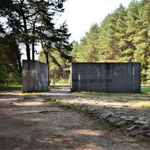Ingang Memorial Site Treblinka - dichtbij
