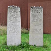 Monumenten bij hoofdingang