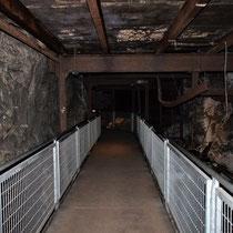 De tunnels waren 15 meter in diameter en bestonden uit 3 lagen