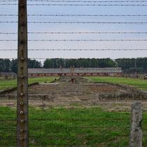 Restanten barak Birkenau