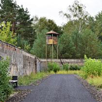 Voormalige wachttoren mannenkamp