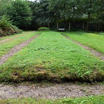 Voormalige begraafplaats Kamp Amersfoort - achter de schietbaan en fusilladeplaats