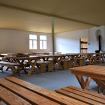 30) Eetzaal voor gevangenen in Barak 13B
