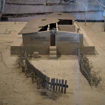 Maquette gaskamer Belzec
