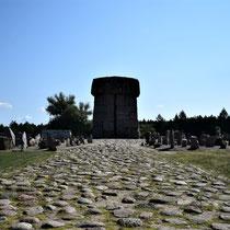 Memorial Monument Treblinka - voorkant ver
