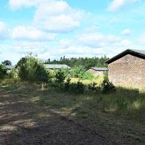 Russische kamp - zicht vanaf einde naar begin
