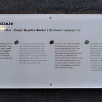 Informatiebord metaalsnijmachine