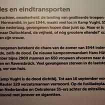 95) Informatiebord 'Fusillades en eindtransporten'