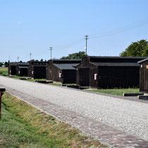 Weg met barakken begin Majdanek - niet voor gevangenen