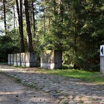 Ingang Memorial Site Treblink - ver