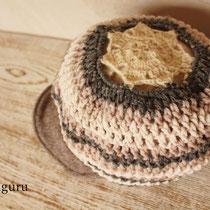 トップの編みがとってもきれいでしょ!