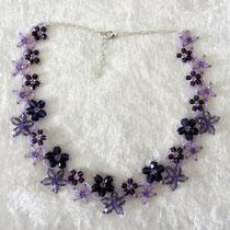 Blümchenkette lila - ausverkauft