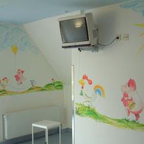 Wandbemalung im Krankenhaus Seesen