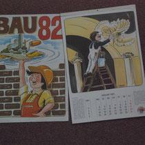 Jahreskalender  Auftraggeber: Verband der Bauindustrie