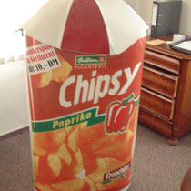 Rucksackverkauf von Chips und mehr...