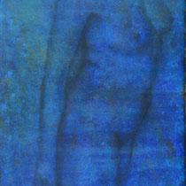"""""""Ohne Titel"""" - Öl auf Leinwand 80 x 40 cm, 2019"""