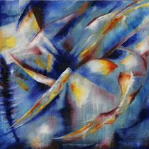 """""""ohne Titel"""" - Öl auf Leinwand 110 x 140 cm, 2008"""