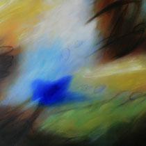"""""""ohne Titel"""" - Öl auf Leinwand 110 x 140 cm, 2021"""
