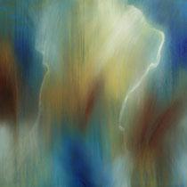 """""""Mit dem Wind 1"""" - Öl auf Leinwand 60 x 60 cm, 2018"""
