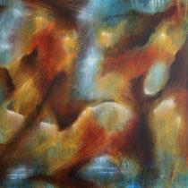 """Prophezeiung"" - Öl auf Leinwand 100 x 130 cm, 2018"