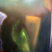 """Grünes Licht"" - Öl auf Leinwand 100 x 130 cm, 2015"