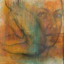 """""""Ohne Titel"""" - Öl auf Leinwand 50 x 50 cm, 2017"""